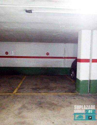 hola, alquilo plaza de garaje en san marcelino. se encuentra en la segunda planta, es de fácil acce