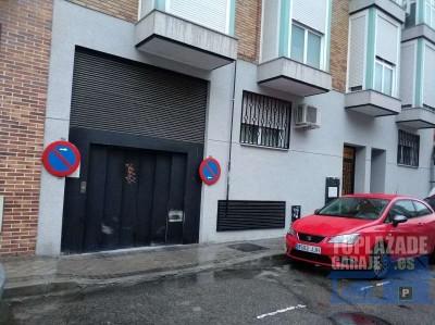 se alquila plaza de garaje en calle tarragona, 10 (vereda de los estudiantes, leganes) con acceso ex