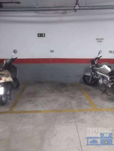 se vende plaza de garaje en calle gas 1 entrada por calle san salvador, para dos motos, en perfectas