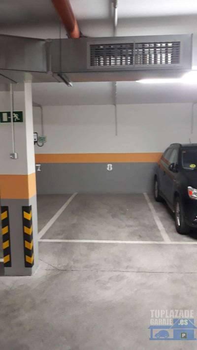 plazas de garaje con preistalacion electrica