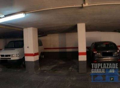 se vende plaza de garaje con capacidad para coche