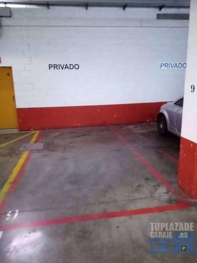 se alquilan plazas de garaje en centro comercial garena plaza, situado en la avenida juan carlos i,