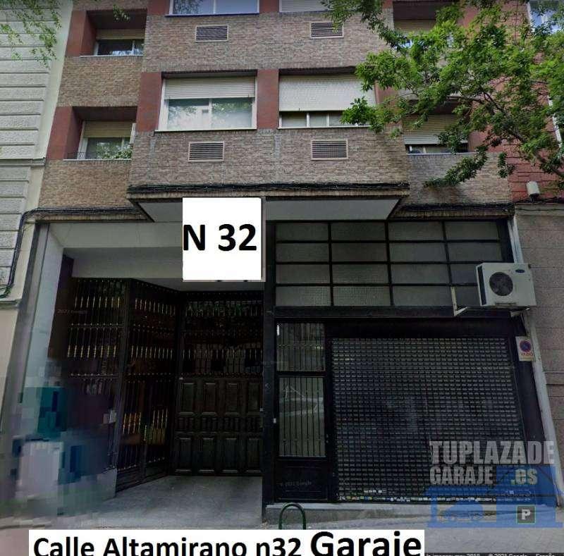 Aparcamiento cómodo en la calle Altamirano 1 Moncloa Madrid - 7832618528485