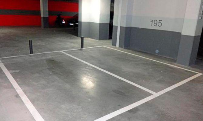 Las plazas de garaje, (Una buena inversión) - portada